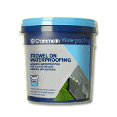 Trowel on Waterproofing - Sân vườn